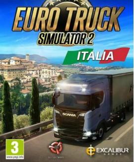 Aktivační klíč na Euro Truck Simulator 2: Italia