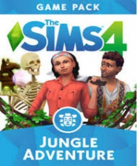 Aktivační klíč na The Sims 4: Dobrodružství v džungli