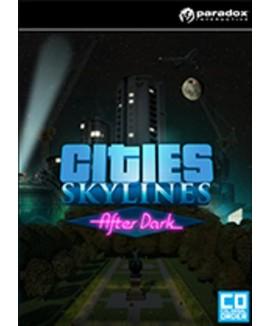 Aktivační klíč na Cities: Skylines - After Dark