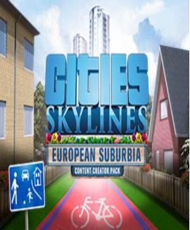 Aktivační klíč na Cities: Skylines - European Suburbia