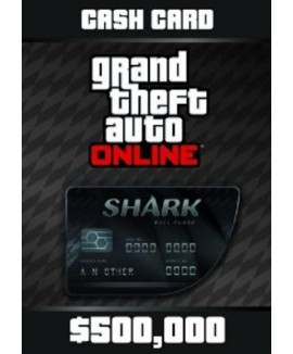 Aktivační klíč na Grand Theft Auto V GTA: Bull Shark Cash Card
