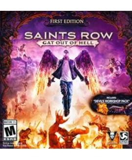 Aktivační klíč na Saints Row: Gat out of Hell (First Edition)