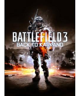 Aktivační klíč na Battlefield 3: Back to Karkand