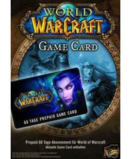 Aktivační klíč na World of Warcraft 60 denní předplacená karta (WoW)