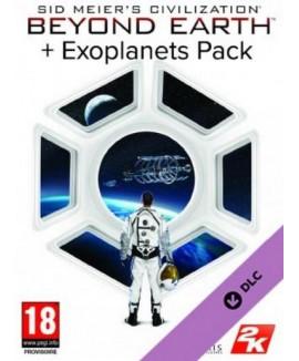 Aktivační klíč na Civilization: Beyond Earth - Exoplanets Pack (DLC)