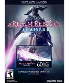 Aktivační klíč na Final Fantasy XIV: A Realm Reborn 60-denní karta