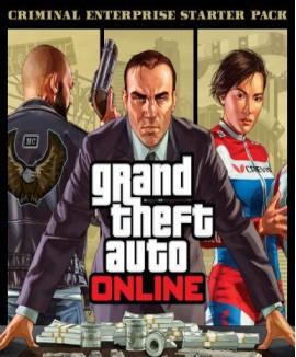 Aktivační klíč na Grand Theft Auto V (GTA 5): Criminal Enterprise Starter Pack