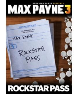 Aktivační klíč na Max Payne 3 - Rockstar Pass
