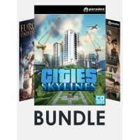 Paradox Strategy Games Bundle (Incl. Cities: Skylines + Europa Universalis IV + Hearts of Iron IV Cadet Edition)