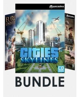 Aktivační klíč na Paradox Strategy Games Bundle (Incl. Cities: Skylines + Europa Universalis IV + Hearts of Iron IV Cadet Edition)