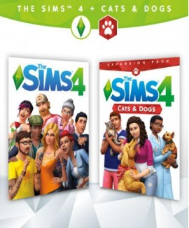 Aktivační klíč na The Sims 4 + Psi a kočky - Bundle