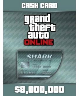 Aktivační klíč na Grand Theft Auto V (GTA 5): Megalodon Shark Cash Card