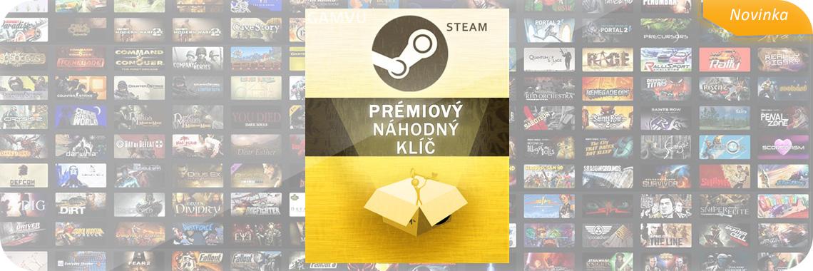 Náhodný PRÉMIOVÝ Steam klíč